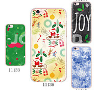 MAYCARI®Snow Face Soft Transparent TPU Back Case for iPhone 5/5S(Assorted Colors)
