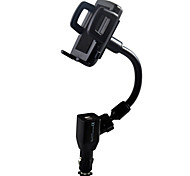 New dual USB car full support / mobile phone holder / car charger mobile phone rack