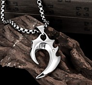 Restoring Ancient Ways is Exaggerated Men Titanium Steel Pendant Necklace