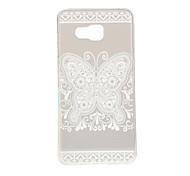 Bilateral Butterfly Pattern TPU Soft Case Phone Case for Samsung Galaxy A3/A5/A7/A3 10/A510/A710