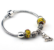 Bracelet Charm Bracelet / Vintage Bracelet Alloy Party / Daily / Casual Jewelry Gift Yellow,1pc