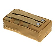 LS1625 Outdoor Tactical Military Nylon Army Fans Camo Magazine Pouch Bag Hiking Waist Bag Pouch Case
