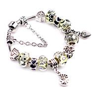 Bracelet/Charm Bracelets / Vintage Bracelets Alloy Party / Daily / Casual Jewelry Gift Yellow / Blue,1pc