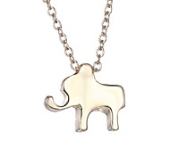 Japan And South Korea Cute Cartoon Elephant Fashion Simple Necklace