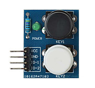 2-Independent Key Touch Button Module Sensor for Arduino+Raspberry Pi - Blue