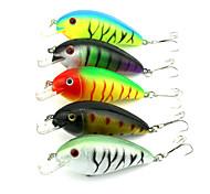"10pcs pcs Manivela Colores Aleatorios 15.2g g/1/2 Onza,85 mm/3-5/16"" pulgada,Plástico duroPesca de Mar / Pesca de agua dulce / Pesca de"