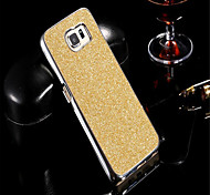 Ultra Thin Hard Plastic Plating  Bling Shiny Glitter Cover Case For Samsung S6/S7/S6 Edge/S7 Edge/S6 Edge +/S7 Edge +