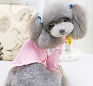 Dog Coat / Shirt Green / Pink / Yellow Summer Fashion