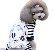 Cães Casacos Preto Verão Fashion