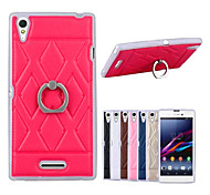 Special design Ring Holder Luxury Phone Case For Sony Xperia T3 (Assorted Colors)