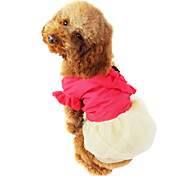 Dog Coat Red / Blue / Yellow Dog Clothes Summer Fashion