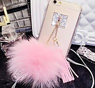 LADY®The Fox Fur Ball Tassel Case for iphone6/6s(4.7)