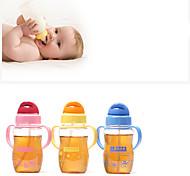bambino, bambini, bottiglia di vetro originalità tazza di paglia