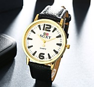 Authentic moment Leather watch Waterproof Watch men/women Watch quartz watch gold case 4 band Color WH0031A/B/F