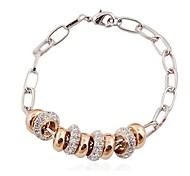 Hot New Charming Lovely Simple Bling Elegant Beads Bracelet Bangle Party Jewelry For Women