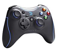 zhidong® negro& n controlador inalámbrico para PS3 azul / teléfono androide / caja de TV / PC