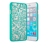 Wild Lily Color Relief Mobile Phone Protection Shell Chinese Style for iPhone 6/6S 4.7""