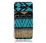 Folk-Custom Pattern TPU Material Phone Case for Samsung Galaxy J1/J1 Ace/J2/J3/J5/J7