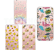 For iPhone 6 Case iPhone 6 Plus Case Case Cover Ultra-thin Transparent Pattern Back Cover Case Cartoon Soft TPU foriPhone 6s Plus iPhone