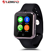 dispositivos portátiles reloj inteligente apoyo mtk6260 sim tf tarjeta Bluetooth lemfo d3 SmartWatch para android apple