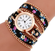 Women's Watches Vintage Braided cruising Bracelet Watch Geneva Quartz watch Ethnic Style Wrist watch femme montre