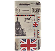 The envelope design of London PU Leather Full Body Case with Card Slot for Samsung Galaxy A9/A9000