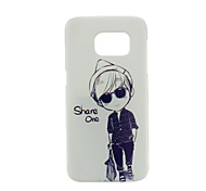 Small Sunglasses PC Phone Back Cover Case for Galaxy S7