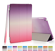 PU leather rainbow gradient holster for iPad Pro