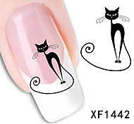 11sheets  Mixed Cartoon  Animal  DIY Water Transfer Sticker Nail Art  Beautiful STZ Aminal11