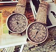 relojes de las mujeres, madera graneado, reloj de los estudiantes, las niñas relojes, relojes de señora, relojes de cuarzo analógicos