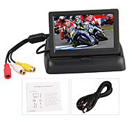 "4.3 ""Inch Car Tft Color Monitor For Dvd Foldable Rear View Camera"