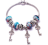 New tribal beaded bracelet retro fashion female bracelet key