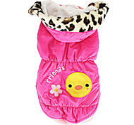 Dog Coat Yellow / Rose Summer Fashion