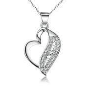 Necklace Chain Necklaces Jewelry Wedding / Party / Daily / Casual / Sports Silver / Sterling Silver Silver 1pc Gift