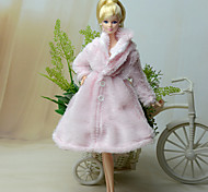 Barbie Doll Pink Polar Fleece Dresses Tops