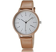 Korean fashion simple scale quartz watch dial