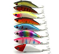 8Pieces Hengjia VIB Baits Vibration 11.8g 80mm Lure Fishing Lure Random Colors