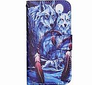 farbige Zeichnung oder Muster PU Ledertasche mit Kartensteckplatz und stehen für Samsung Galaxy s7 / galaxy s7 Rand