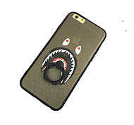 Tasmanian Devil Pattern with Hand Ring Back Case for iPhone 6