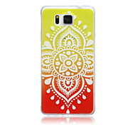 Gradient Chinese knot Pattern TPU Material Phone Case for Samsung Galaxy G360/G530/G355H/G850F
