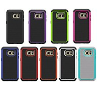 Silicone Plastic Full Body Cases Back Cover mobile phone Case for Samsung Galaxy S7 Assorted Color