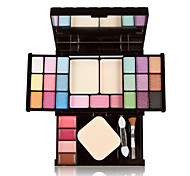 Make-up Compact Makeup Palette 18 Eyeshadow Plate 4 Lipstick 3 Blush and Powder Makeup Sets Makeup Kit