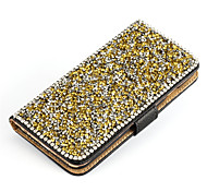Luxury Bling Crystal Diamond Leather Flip Bag Cover For Samsung Galaxy Core Prime G360