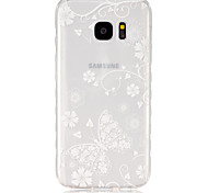 For Samsung Galaxy Case Transparent Case Back Cover Case Butterfly TPU SamsungS7 / S6 edge / S6 / S5 Mini / S5 / S4 Mini / S4 / S3 Mini /