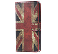 For DOOGEE Case Card Holder / with Stand / Flip / Pattern Case Full Body Case Flag Hard PU Leather DOOGEE