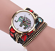 Xu™ Women's The Elephant  Cloth Tape Belt Quartz Watch