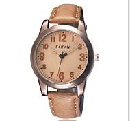 semplice orologio di moda quadrante calibrato