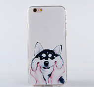 The New Cat Like Fish TPU Smiling Face Back Cover for iPhone6/iPhone 6s(Assorted Colors)