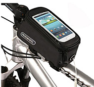 "4.2"" 4.8"" 5.5""Inch/1.5L Cycling Bike Bags Panniers Frame Front Tube Bag For Cell Phone MTB Bike Touch Screen Bag"