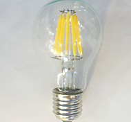 1 pcs kwbled E26/E27 12W 12 COB 1050 lm Warm White / White A60(A19) edison Vintage LED Filament Bulbs 220V